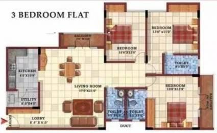 1700 sqft, 3 bhk Apartment in Gopalan Casa Gopalan Whitefield Hope Farm Junction, Bangalore at Rs. 27000