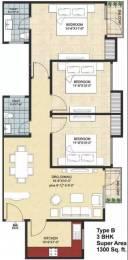 1300 sqft, 3 bhk Apartment in Avalon Rangoli Sector 65 Bhiwadi, Bhiwadi at Rs. 25.0000 Lacs