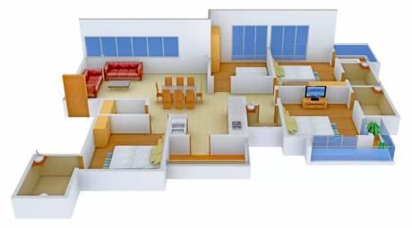 2456 sqft, 4 bhk Apartment in Sumerru Golden Leaf Pal Gam, Surat at Rs. 1.2600 Cr