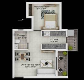 615 sqft, 1 bhk Apartment in Builder wallfort elegante Amlihdih, Raipur at Rs. 19.9875 Lacs
