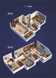 610 sqft, 1 bhk Apartment in Kohinoor Luxuria Kalyan East, Mumbai at Rs. 45.0000 Lacs