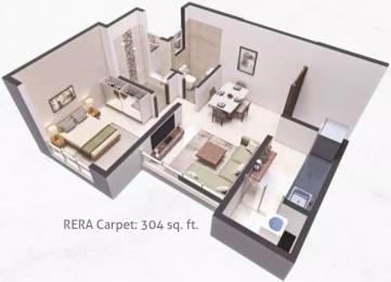 395 sqft, 1 bhk Apartment in Poddar Wondercity Phase I Badlapur East, Mumbai at Rs. 19.8700 Lacs