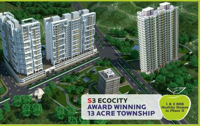 725 sqft, 1 bhk Apartment in Sanghvi Ecocity Phase 3 Mira Road East, Mumbai at Rs. 51.5000 Lacs