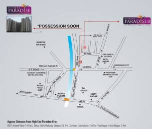 2250 sqft, 3 bhk Apartment in Windsor Paradise 2 Raj Nagar Extension, Ghaziabad at Rs. 59.6250 Lacs