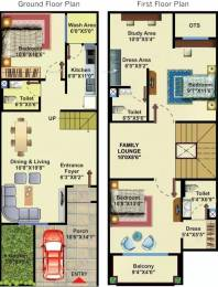 1510 sqft, 3 bhk Villa in NM London Villas Super Corridor, Indore at Rs. 12000