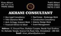 Akhani consultant