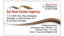 Sai Real Estate kothrud pune