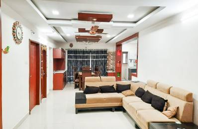 1320 sqft, 3 bhk Apartment in Builder Project Manjeera Pipeline Road, Hyderabad at Rs. 45000