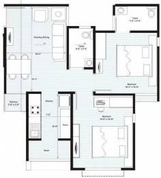 1197 sqft, 2 bhk Apartment in Swagat Afford Sargaasan, Gandhinagar at Rs. 15500