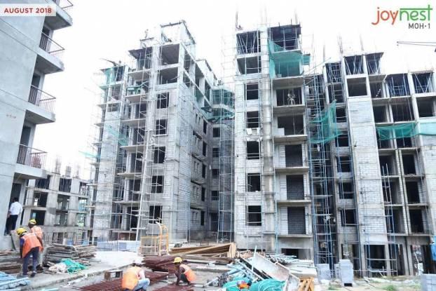 1355 sqft, 3 bhk Apartment in Sushma Joynest MOH 1 PR7 Airport Road, Zirakpur at Rs. 51.0000 Lacs