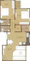1235 sqft, 2 bhk Apartment in Kush Crystal Heights Adajan, Surat at Rs. 42.0000 Lacs