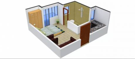 408 sqft, 1 bhk Apartment in Urbtech Xaviers Sector 168, Noida at Rs. 18.5000 Lacs