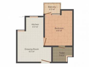 500 sqft, 1 bhk Apartment in Urbtech Xaviers Sector 168, Noida at Rs. 19.0000 Lacs