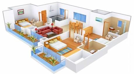 1800 sqft, 3 bhk Apartment in Omaxe Royal Residency Dad Village, Ludhiana at Rs. 35000