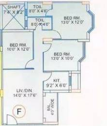 1166 sqft, 3 bhk Apartment in Prasad Prasad Exotica Phool Bagan, Kolkata at Rs. 90.0000 Lacs