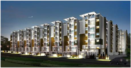 1140 sqft, 2 bhk Apartment in SK Daisy Electronic City Phase 1, Bangalore at Rs. 45.0000 Lacs