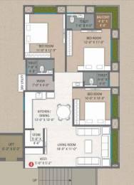 1685 sqft, 3 bhk Apartment in Builder New home Hazira Adajan Road, Surat at Rs. 65.0000 Lacs