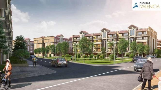 1740 sqft, 3 bhk BuilderFloor in Sushma Valencia Nagla, Zirakpur at Rs. 65.0000 Lacs
