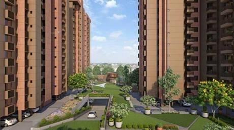 1330 sqft, 3 bhk Apartment in Sun South Park Bopal, Ahmedabad at Rs. 22000