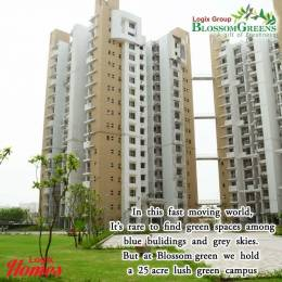 1040 sqft, 2 bhk Apartment in Logix Blossom Greens Sector 143, Noida at Rs. 44.2000 Lacs