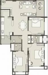 2070 sqft, 3 bhk Apartment in Nishant Ratnakar IV Jodhpur Village, Ahmedabad at Rs. 40000