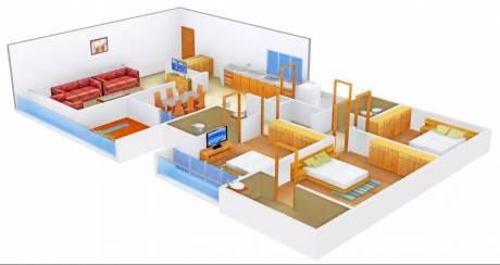 2430 sqft, 3 bhk Apartment in Satyam Insignia Jodhpur Village, Ahmedabad at Rs. 40000