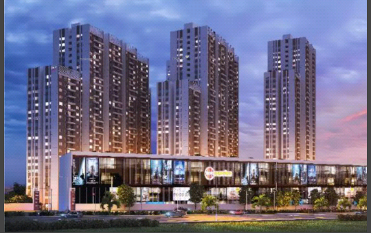 1216 sqft, 2 bhk Apartment in Incor One City Kukatpally, Hyderabad at Rs. 75.0000 Lacs
