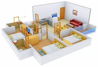 1530 sqft, 3 bhk Apartment in Shree Rang Nagar And Mall Urjanagar, Gandhinagar at Rs. 47.0000 Lacs