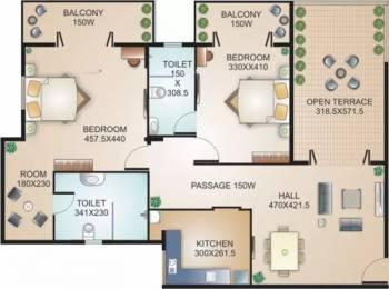1485 sqft, 2 bhk Apartment in Models Status Dona Paula, Goa at Rs. 35000