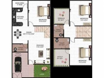 1520 sqft, 3 bhk Villa in  Madhuban City Kolar Road, Bhopal at Rs. 45.0000 Lacs