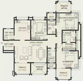 2100 sqft, 3 bhk Apartment in Kolte Patil 24K Glitterati Pimple Nilakh, Pune at Rs. 55000