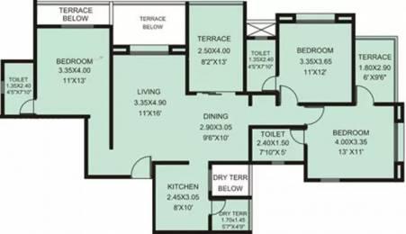 1482 sqft, 3 bhk Apartment in Rachana My World Baner, Pune at Rs. 28000
