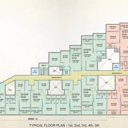 1 BHK Builder Floor for Sale in Ozone Apartments, Wagholi, Pune.