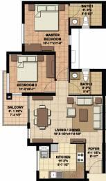 982 sqft, 2 bhk Apartment in Akshaya Today Thaiyur, Chennai at Rs. 0