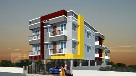 1056 sqft, 2 bhk Apartment in Builder Project Selaiyur, Chennai at Rs. 39.9000 Lacs