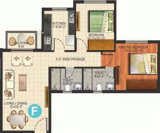 1090 sqft, 2 bhk Apartment in Ideal Aquaview Salt Lake City, Kolkata at Rs. 0