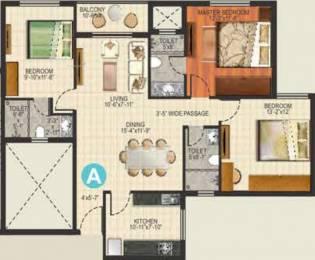 1510 sqft, 3 bhk Apartment in Ideal Aquaview Salt Lake City, Kolkata at Rs. 0