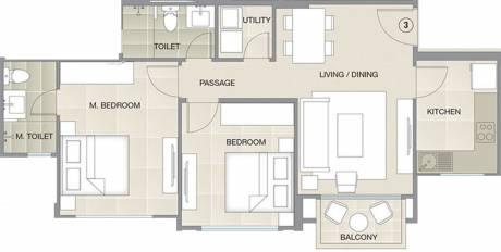 641.64 sqft, 2 bhk Apartment in Hiranandani Barca Thane West, Mumbai at Rs. 0