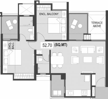 567.26 sqft, 2 bhk Apartment in ARP Valora Towers B Mundhwa, Pune at Rs. 0