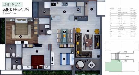 1151 sqft, 3 bhk Apartment in Sheetal Westpark Residency Vastrapur, Ahmedabad at Rs. 0