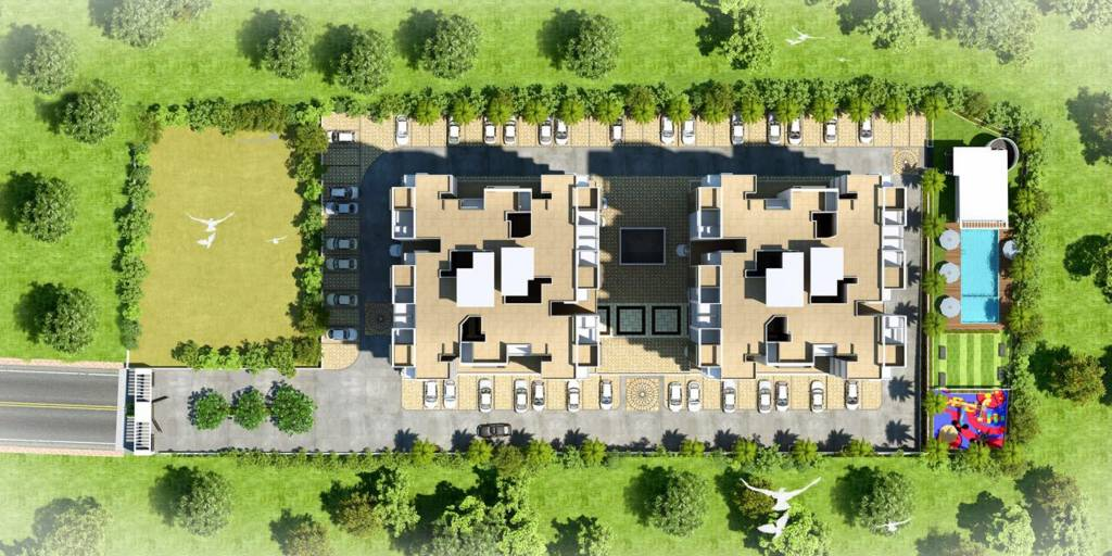 279.97 sqft, 1 bhk Apartment in Majestique Oasis Wagholi, Pune at Rs. 0