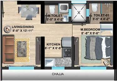330.02 sqft, 1 bhk Apartment in Sethia Imperial Avenue Malad East, Mumbai at Rs. 0