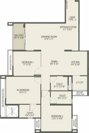 1108.79 sqft, 3 bhk Apartment in Arvind Oasis Dasarahalli on Tumkur Road, Bangalore at Rs. 0