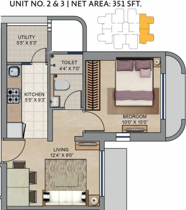 323 sqft, 1 bhk Apartment in Lodha Codename Move Up Jogeshwari West, Mumbai at Rs. 0