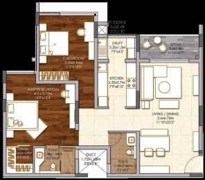 1397 sqft, 2 bhk Apartment in Brigade Woods ITPL, Bangalore at Rs. 0
