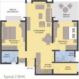 1082 sqft, 2 bhk Apartment in Rohan Abhilasha Wagholi, Pune at Rs. 0