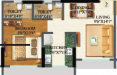620 sqft, 1 bhk Apartment in Raj Arcades Kalpavruksh Heights Kandivali West, Mumbai at Rs. 0