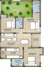 1245 sqft, 3 bhk Apartment in KG Good Fortune Perumbakkam, Chennai at Rs. 0
