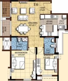 1223 sqft, 2 bhk Apartment in Akshaya Tango Thoraipakkam OMR, Chennai at Rs. 0