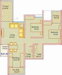 976 sqft, 2 bhk Apartment in Mantra Insignia Mundhwa, Pune at Rs. 0